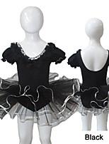 Dames/Kinderen - Ballet/Uitvoering - Tutu (Zwart/Rood , Katoen/Tule/Lycra
