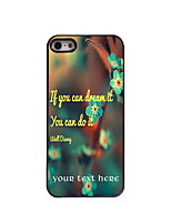 Personalized Gift You Can Do it Design Aluminum Hard Case for iPhone 4/4S
