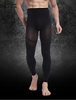 YUIYE® Men Slimming Body Shaper Pants Tummy Control Underwear Pants Slimming Thigh Belly Lift Hips Nylon Black
