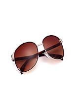 100% UV400 Women Men Metal Full-Rim Retro Eyeglasses Fashion Big Sunglasses
