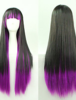 Japanese and Korean Fashion Color Cosplay Long Straight Hair Wig