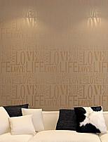 contemporaneo lettera moda carta da parati in stile art deco 0.53m * 10m muro che copre l'arte non tessuto carta da parati