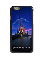 Personalized Gift Castle Design Aluminum Hard Case for iPhone 6