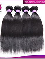 Brazilian virgin hair straight 4pcs/lot Brazilian hair weave bundles so soft Brazilian straight hair weave