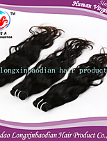 3 Bundles Grade 7A Fashion Style Factory Price 100% Unprocessed RemyPeruvian Natural Wave Human Hair Weft