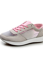 Women's Shoes Silk Flat Heel Round Toe/Closed Toe Fashion Sneakers Athletic/Casual Green/Pink