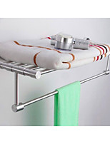 Modern Brand New Fashion Aluminium Bath Towel Shelf
