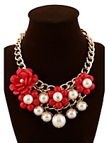 Women's Fashion Multilayer Pearl Beaded Necklace