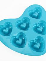 Heart Shaped Baking Molds Ice / Chocolate / Cake Mold (Random Color)