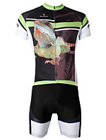 PaladinSport Men's  Cycyling Jersey + Shorts  Bike Suits Cycling Apparel DT556 All Size