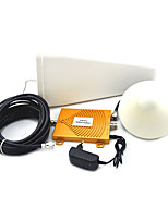 Mini DCS 1800MHz + GSM 900Mhz Dual Band Mobile Phone Signal Booster Cell Phone Signal Amplifier + Antenna