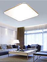24W Flush Mounte LED Light Modern  Aluminum Sitting Room Bedroom Lamp Rectangle Iphone 5  Shape  with Light Ajustable