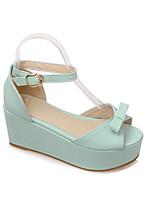 Women's Shoes Wedge Heel Wedges/Open Toe Sandals Outdoor/Office & Career/Dress/Casual Multi-color