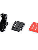 J-Hook Buckle with Mount Surface and 3M Sticker for Gopro Hero 4/3+/3/2/1/sj4000/sj5000/sj6000