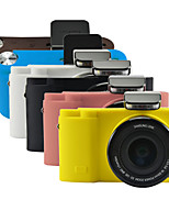 Dengpin Soft Silicone Armor Skin Rubber Camera Cover Case Bag for Samsung NX3300 NX3000 (Assorted Colors)