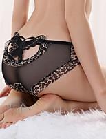Women's Sexy Leopard Print Bandage G-string Thong Panty
