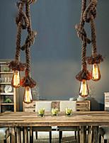 Metal - Lámparas Colgantes - Bombilla incluida - Cosecha/Campestre