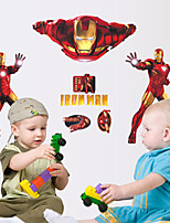 Wall Stickers Wall Decals, Cool Iron Man The Avengers PVC Wall Stickers