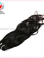 16 Inch 6A Human Hair Natural Wave Full Cuticle Virgin Remy Hair Weft