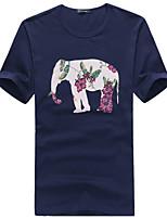 2015 High Quality 95% Cotton Brand Men's T-Shirt Short Sleeve 3 Color M-3XL