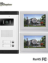 De uno a dos de vídeo portero automático ( 7 Manos-Libres