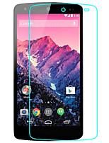 trempé économiseur d'écran de verre fo LG Nexus 5