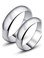 Couples' Silver Ring With Non Stone