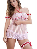 Sexy Women's Lingerie Lace sheer Dress Nightwear Cute Accessory Underwear G-string Thong 7002
