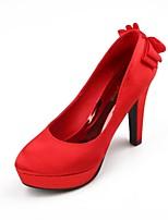 Women's Shoes Patent Leather Low Heel Heels Pumps/Heels Wedding Red