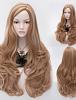 European And American Fashion Gradient Hair Streaked High Quality Synthetic Wigs