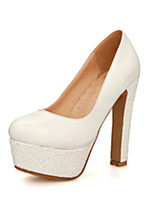 Women's Shoes Synthetic Flat Heel Heels/Basic Pump Pumps/Heels Office & Career/Dress