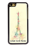 Personalized Gift The Eiffel Tower Design Aluminum Hard Case for iPhone 5C