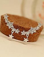 Bright Full Bore Little Star Pendant Earrings