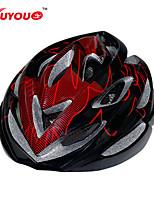 Capacete ( Amarelo/Branco/Vermelho/Preto/Azul/Azul Claro , PC/EPS ) - Montanha/Estrada/Esportes - Unisexo 22 AberturasCiclismo/Ciclismo