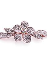 Women's Fashion Elegant Flowers Crystal Hairpin FJ0014