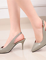Women's Shoes Stiletto Heel Pointed Toe Pumps/Dress Black/Red/Gray