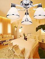 Flush Mount LED Modern/Contemporary Living Room/Bedroom/Dining Room/Kitchen/Study Room/Office/Kids Room/Game Room Glass
