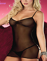 Women Acrylic/Polyester/Spandex Babydoll & Slips/Lace Lingerie/Robes/Ultra Sexy/Suits Nightwear