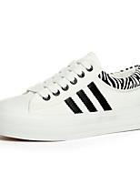 Scarpe Donna Di corda Piatto Creepers/Punta arrotondata Ballerine/Sneakers alla moda Ufficio e lavoro/Casual Bianco