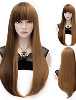 Natural Wave Mix Color Long Hair Wigs Synthetic Wave Hair Wigs Fashion Style
