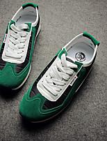 Men's Shoes  Round Toe  Low Heel  Fashion Sneakers  Indoor Court