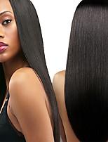 personalizado (28 dias) perucas de cabelo humano para as mulheres brasileiras cabelo virgem reta cor do cabelo humano (# 1 # 1b # 2 # 4)