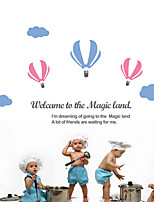 Wall Stickers Wall Decals, Modern A balloon PVC Wall Stickers