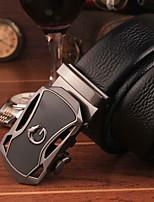 Men Party/Work/Casual Alloy Calfskin Waist Belt