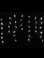 4W 3 meter lange 100st LED string licht met AC110-220V ingang PVC transparante, witte kleur