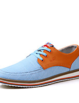 Men's Shoes Athletic Denim Fashion Sneakers Blue/Gray/Navy/Neutral