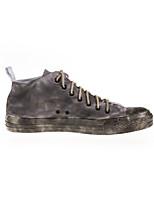 Zapatos de mujer Tela Tacón Plano Comfort Sneakers a la Moda/Zapatos de Deporte Exterior/Casual/Deporte Gris