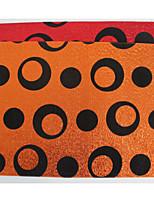 100% Polyester Beflockung funkel glänzend Tischset