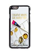 Personnalisé étui de téléphone - Multicolore  - en Plastique/métal - iPhone 6
