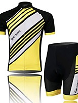 A Yellow Jersey Short Suit, Moisture Cycling Wear, Motor Function Material